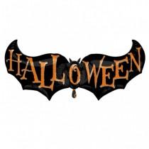 Balão Foil Morcego Halloween