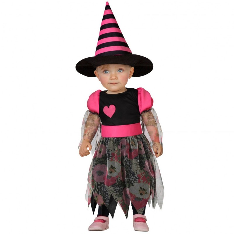 0d1b81f99 Disfarce Halloween de Bruxa bebé 12-24 meses