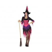Disfarce Halloween Bruxa M-L