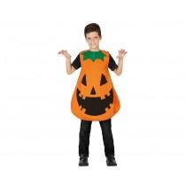 Disfarce Halloween Abóbora 7-9 anos