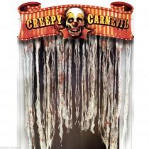 Cortina de porta Halloween...