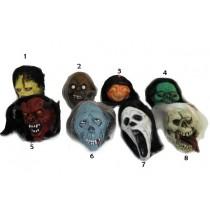Decoração Halloween - cabeças