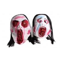 Máscaras sangrentas de halloween