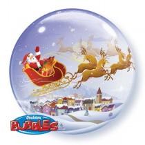 Balão Bubble Natal