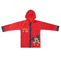 Impermeável vermelho Mickey
