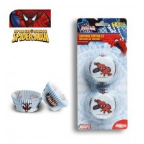 Formas para cupcake Spiderman