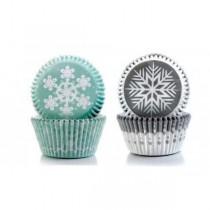 Formas para cupcake floco...