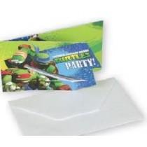 Convites Tartarugas Ninja