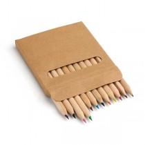 Lápis de cor pequenos