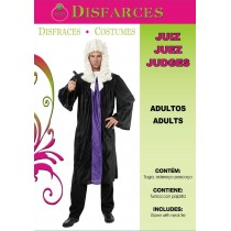 Disfarce Carnaval Adulto Juíz