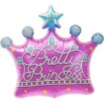 Balão Foil Coroa de Princesa