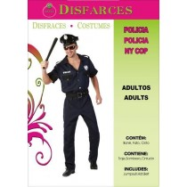 Disfarce Adulto Policia