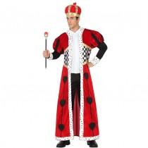 Disfarce Carnaval Rei Corações