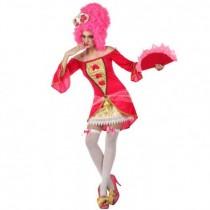Disfarce Carnaval Cortesã