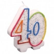 Vela aniversário 40