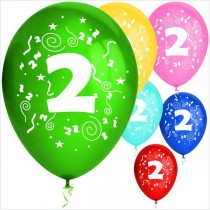 Balões látex nº 2