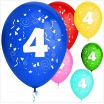 Balões látex nº 4