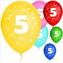 Balões látex nº 5