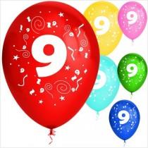 Balões látex nº 9