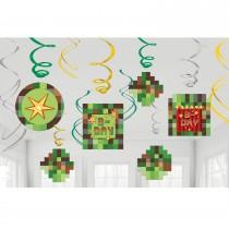 Swirls decorativos Minecraft