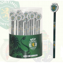 Lápis com borracha Sporting CP