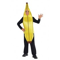 Disfarce Banana 6-8 anos