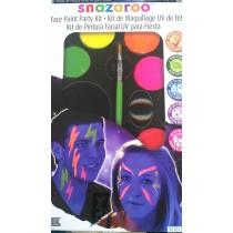 Tinta Facial Snazaroo UV...
