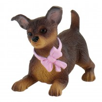 Deco bolo Chihuahua lana