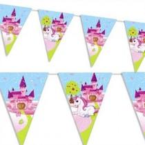 Bandeirinhas triangulares...
