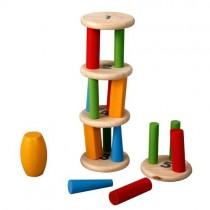 Torre aos tombos Plan Toys...