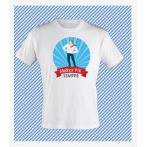 T-Shirt Estampada Pai