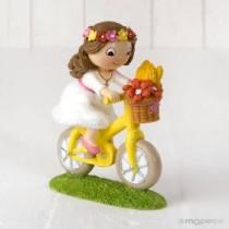 Deco Bolo Menina Bicicleta...