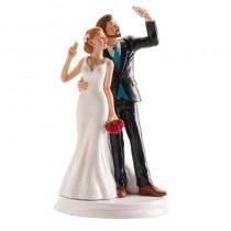 Deco Bolo Casamento Noivos...
