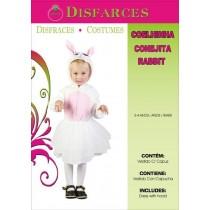 Disfarce Coelhinha 3-4 Anos