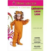 Disfarce Leão 3-4 Anos