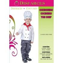 Disfarce Cozinheiro 3-4 Anos