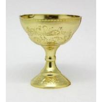 Cálice para Bolo dourado