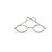 Óculos metálicos