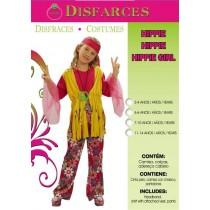 Disfarce Carnaval Hippie