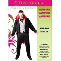 Disfarce Halloween Vampiro