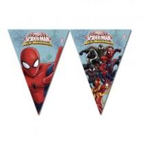 Bandeirinhas Spiderman 2.3m