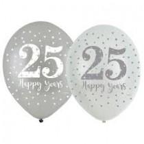 Balões latex 25 anos