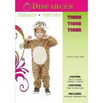 Disfarce Tigre 3-4 Anos