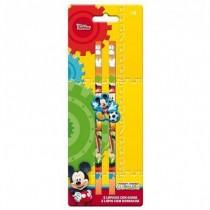 2 lapis + Borracha Mickey