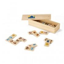 Jogo dominó madeira 98074