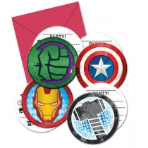 Convites Avengers