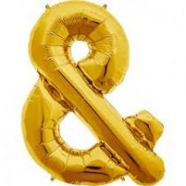 """Balão Foil 34"""" Simbolo &"""