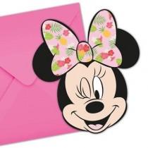Convites Recortados Minnie...