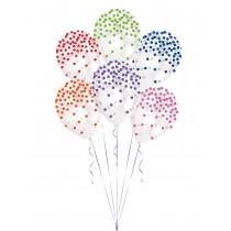 Balão Latex Confeti...