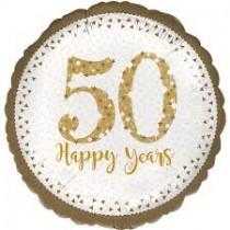 Balão Foil 50 dourado